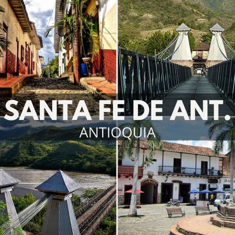 Tour a Santa Fe de Antioquia